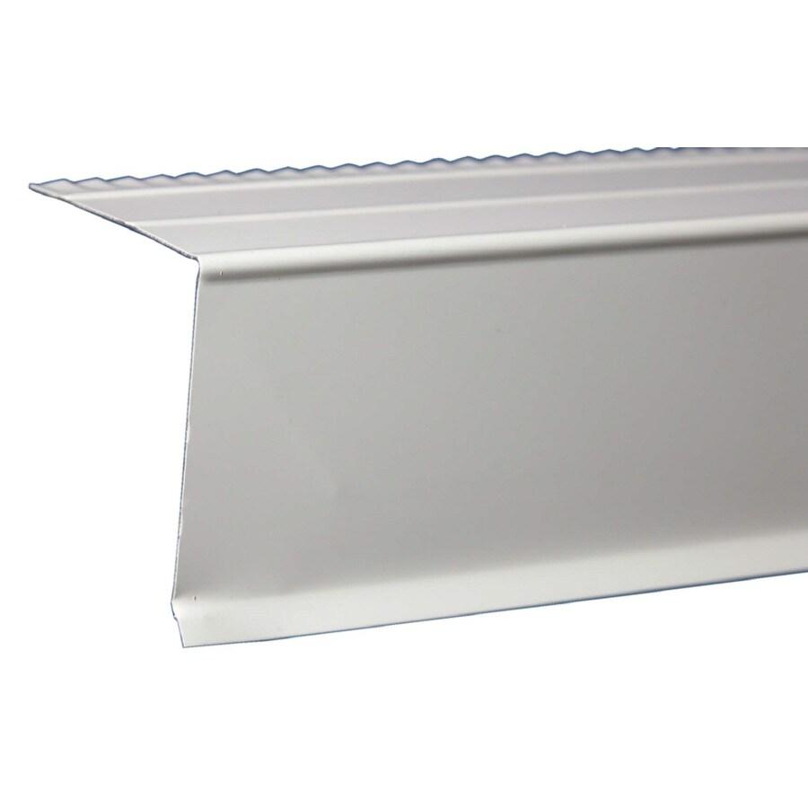 Amerimax C3 1.38-in x 10-ft Galvanized Steel Drip Edge