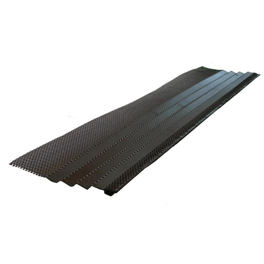 Amerimax Galvanized Steel Gutter Guard At Lowes Com