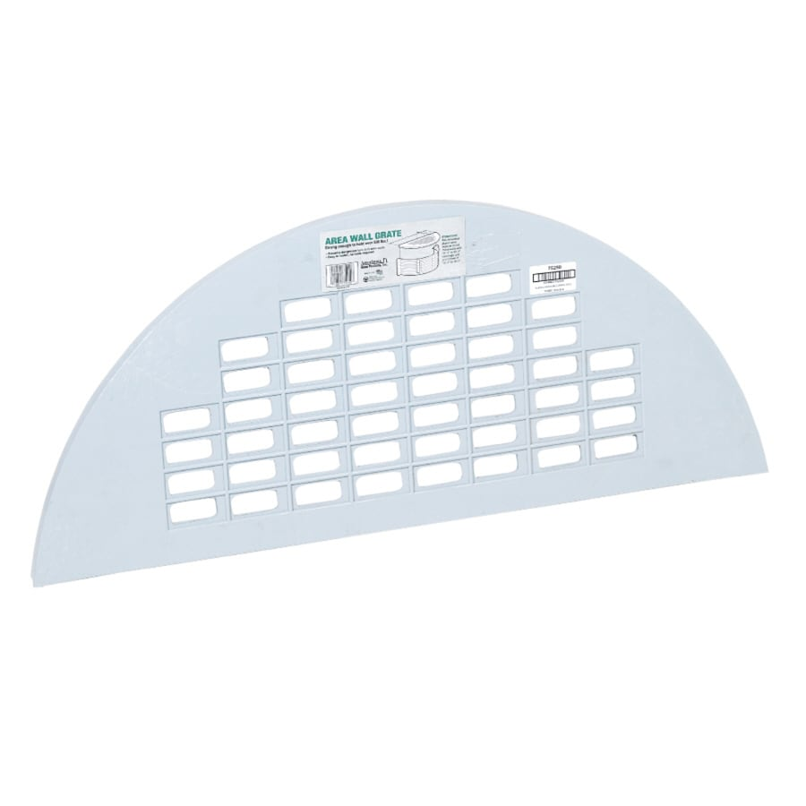 Amerimax 16-in L x 37-in W x 1-in H Area Wall Grate