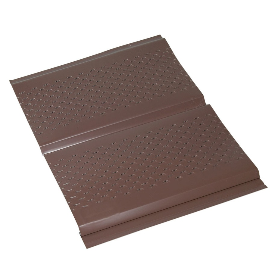 Amerimax 13-in x 144-in Brown Soffit