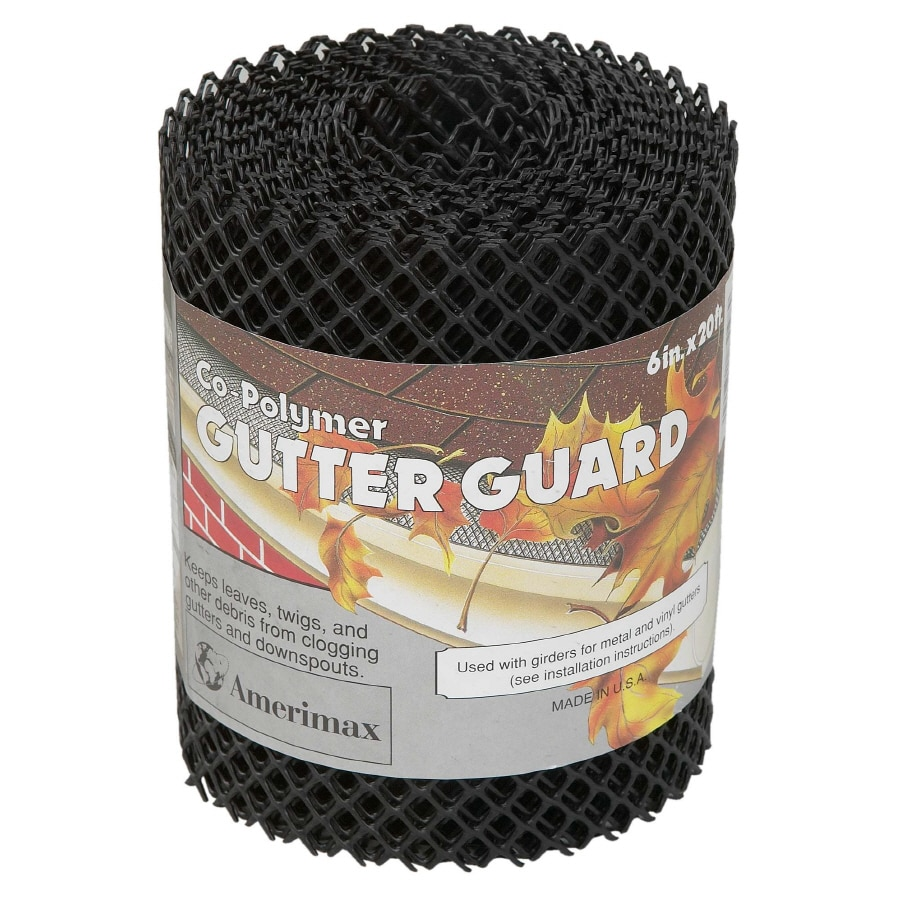 Amerimax Plastic Gutter Guard At Lowes Com