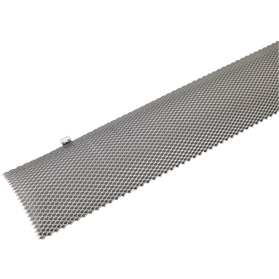Amerimax Hinged Galvanized Steel Gutter Guard 5 In X 3 Ft