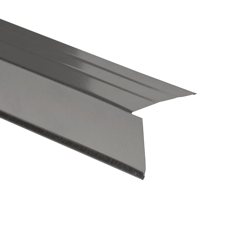Amerimax 2.5-in x 10-ft Galvanized Steel Drip Edge
