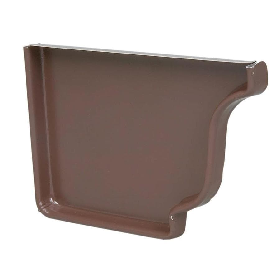 Amerimax Aluminum K Style Right Gutter End Cap