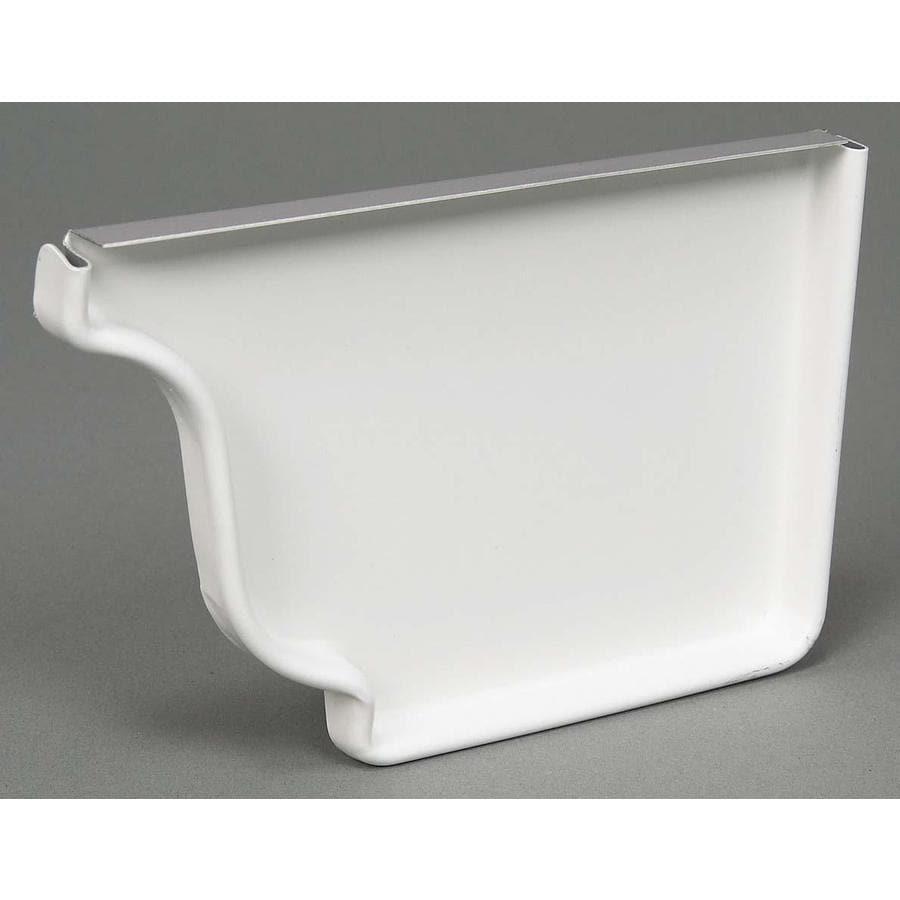 Amerimax Professional Grade Aluminum K Style Right Gutter End Cap