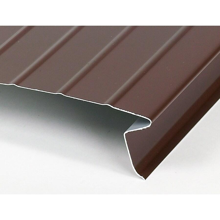 Amerimax 2.375-in x 10-ft Galvanized Steel Drip Edge
