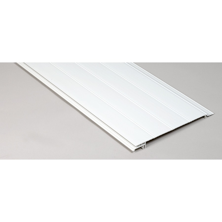 DrySnap 12' White Panel Channel Combo
