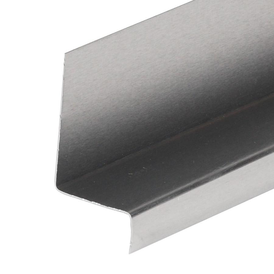 Amerimax Z Bar 1.25-in x 42-in x 1.31-in Aluminum Z Flashing