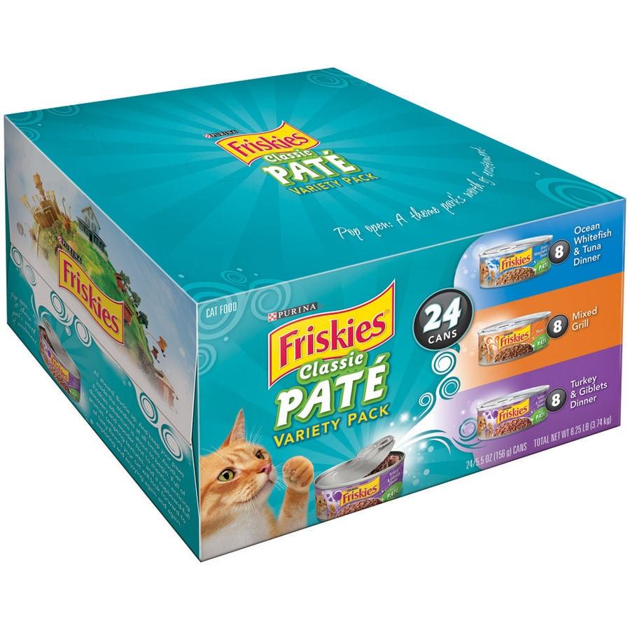 FRISKIES 24-Pack 5.5-oz Ocean Adult Cat Food Variety Pack