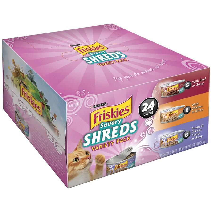 FRISKIES 24-Pack 5.5-oz Adult Cat Food Variety Pack