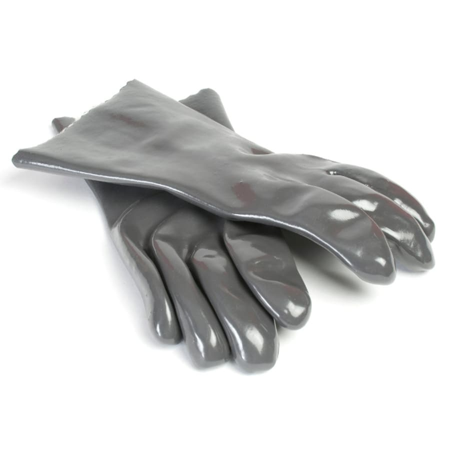 Charcoal Companion 2-Pack Gray Silicone Grill Gloves