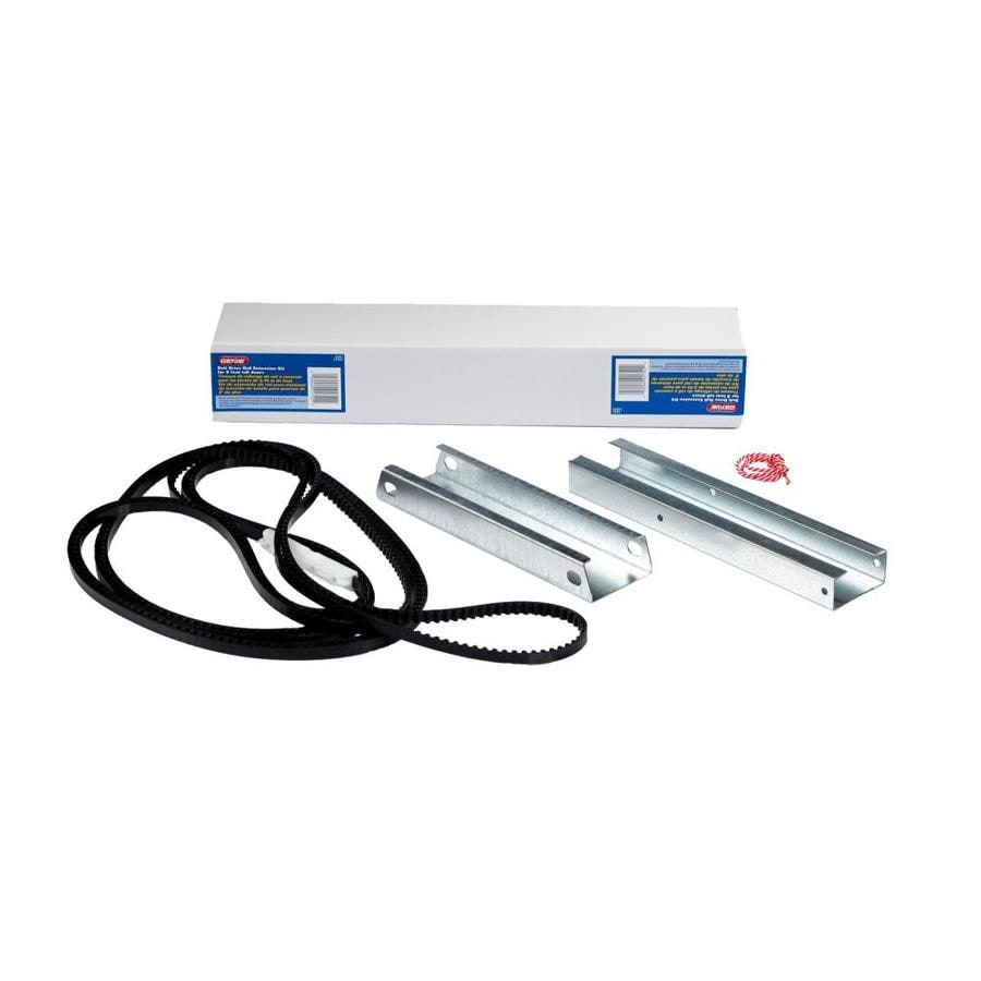 Shop genie garage door rail extension kit at for Genie garage door