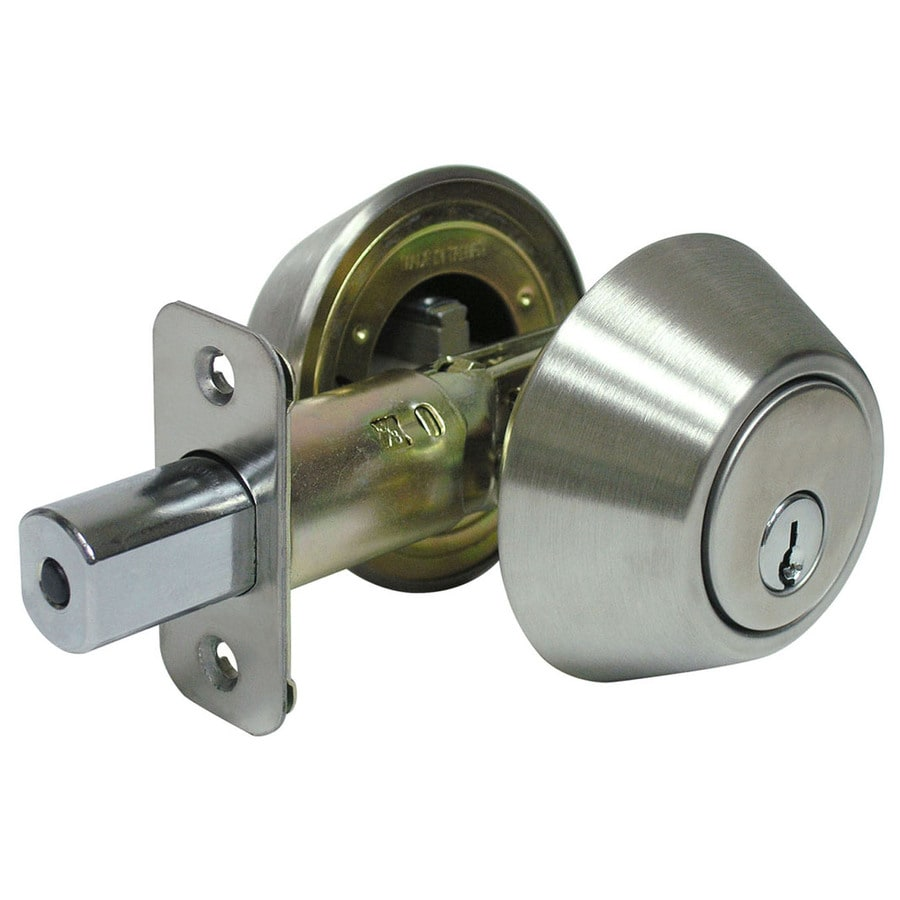 Gatehouse Stainless Steel Double-Cylinder Deadbolt