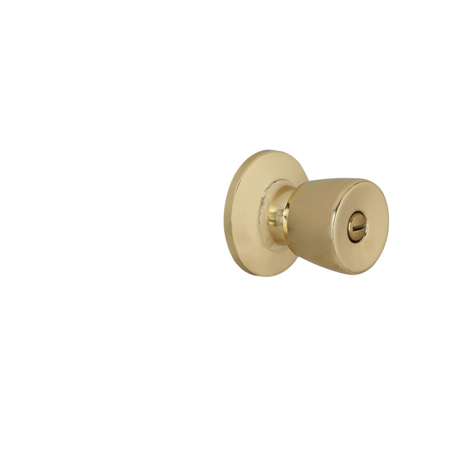 Gatehouse Gallo Polished Brass Tulip Turn Lock Privacy Door Knob