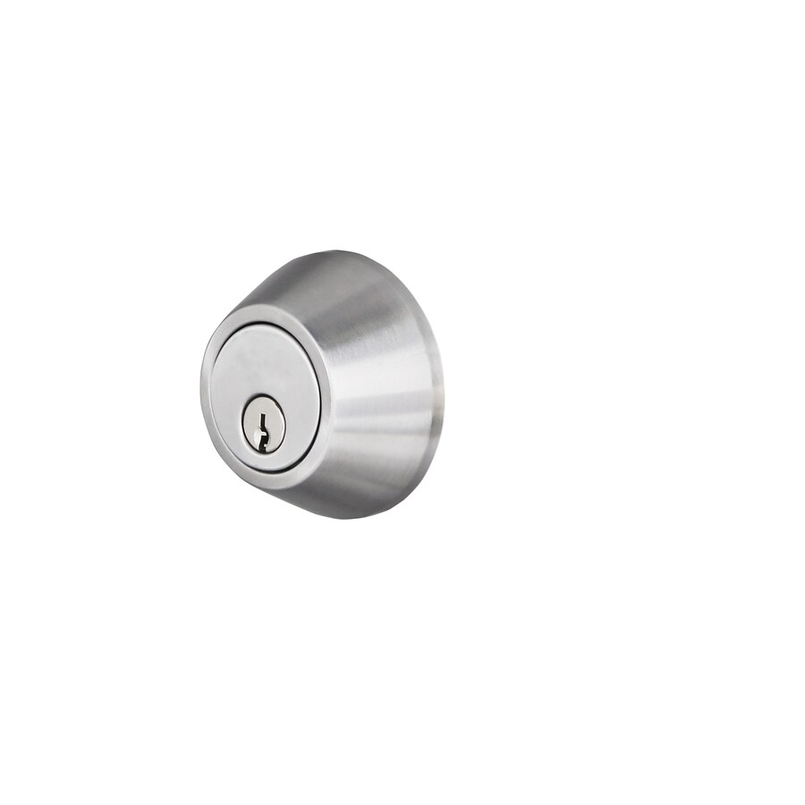 Gatehouse Stainless Steel Single-Cylinder Deadbolt