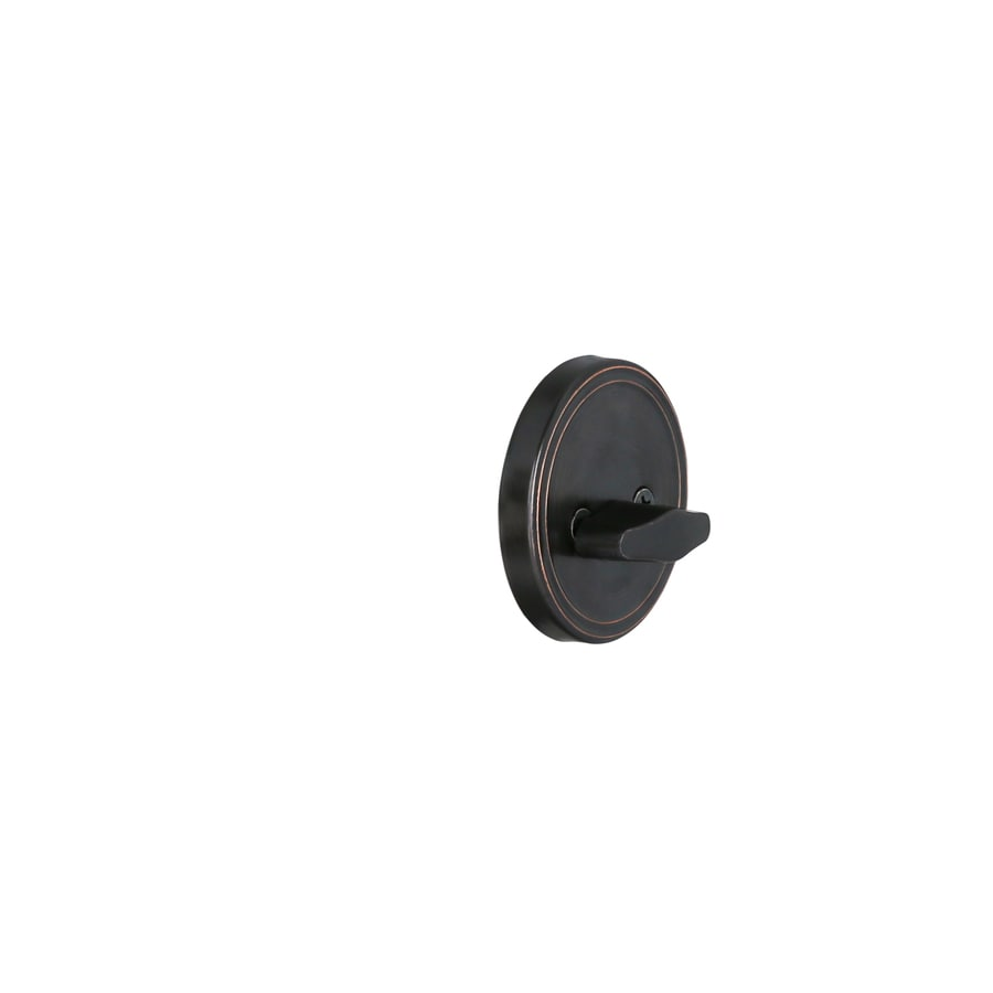 Charmant Gatehouse Aged Bronze Single Cylinder Deadbolt