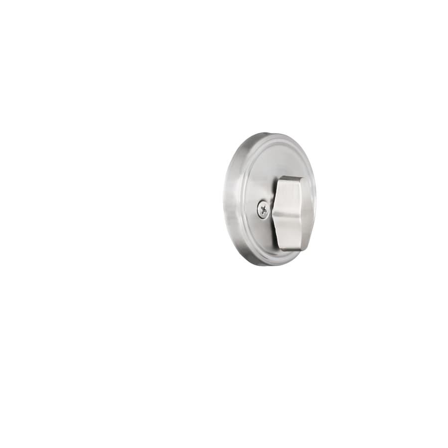 Gatehouse Satin Nickel Single-Cylinder Deadbolt