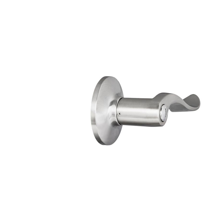 Shop Gatehouse Olivia Satin Nickel Turn Lock Privacy Door Lever at ...