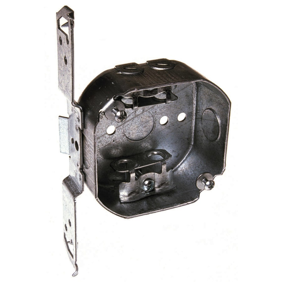 Raco 15.5-cu in 1-Gang Metal Ceiling Electrical Box
