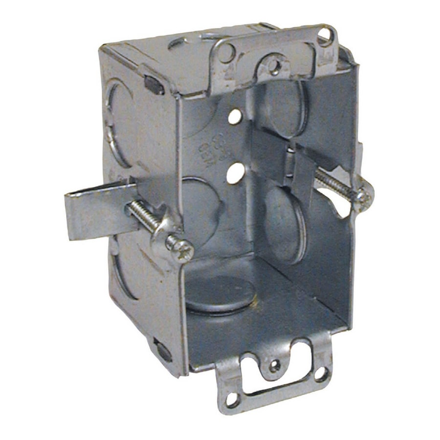 Shop Raco 11-cu in 1-Gang Metal Switch Low Voltage Wall Electrical ...