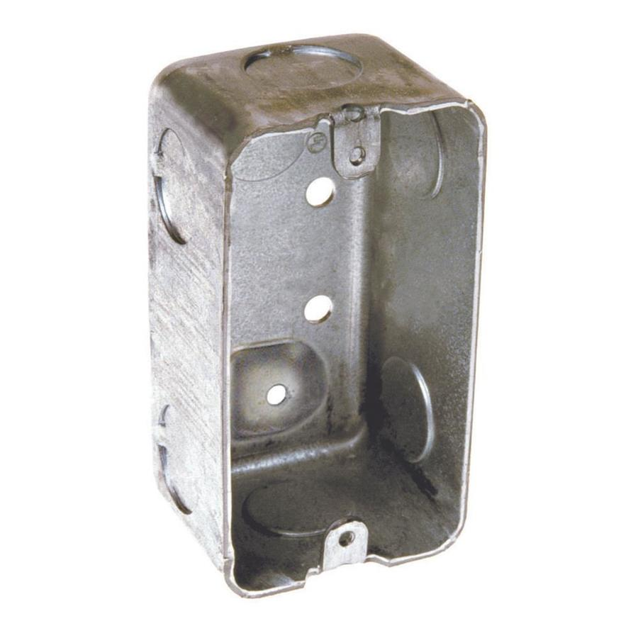 Raco 13-cu in 1-Gang Metal Handy Wall Electrical Box