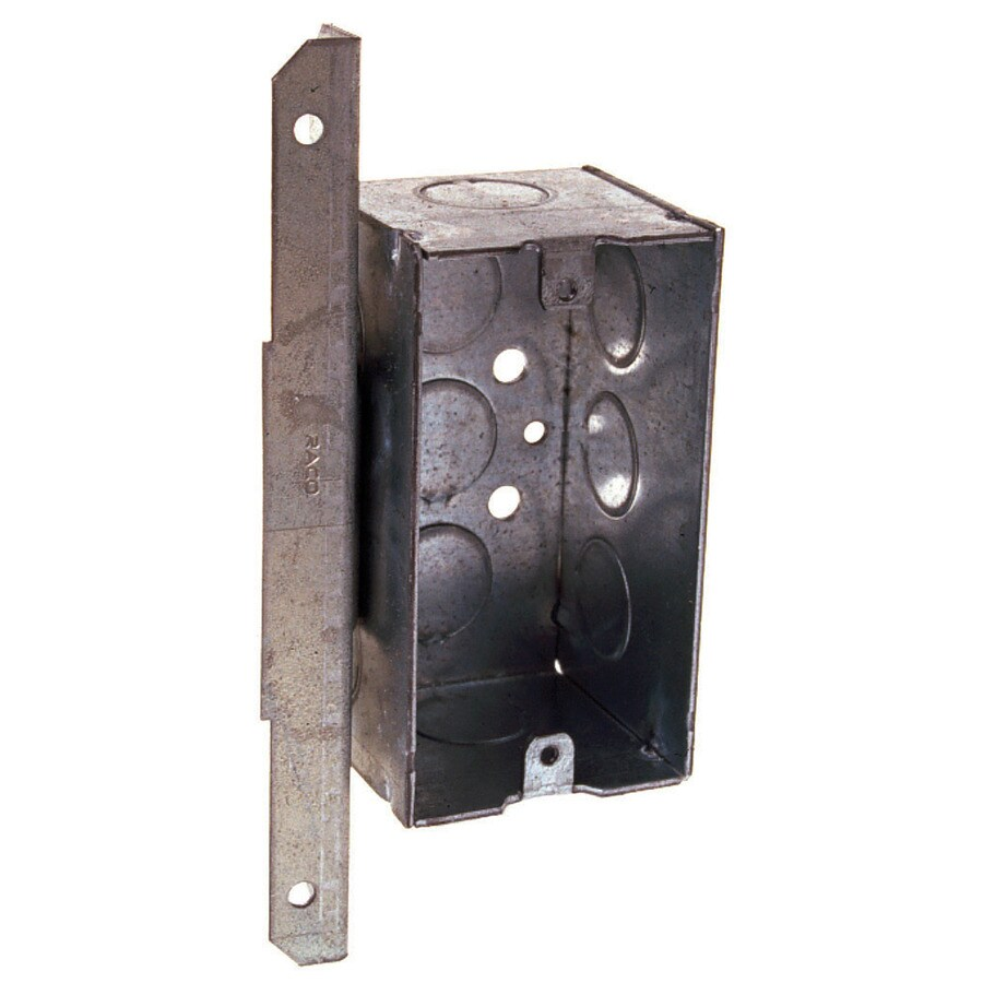 Raco 16.5-cu in 1-Gang Metal Handy Wall Electrical Box