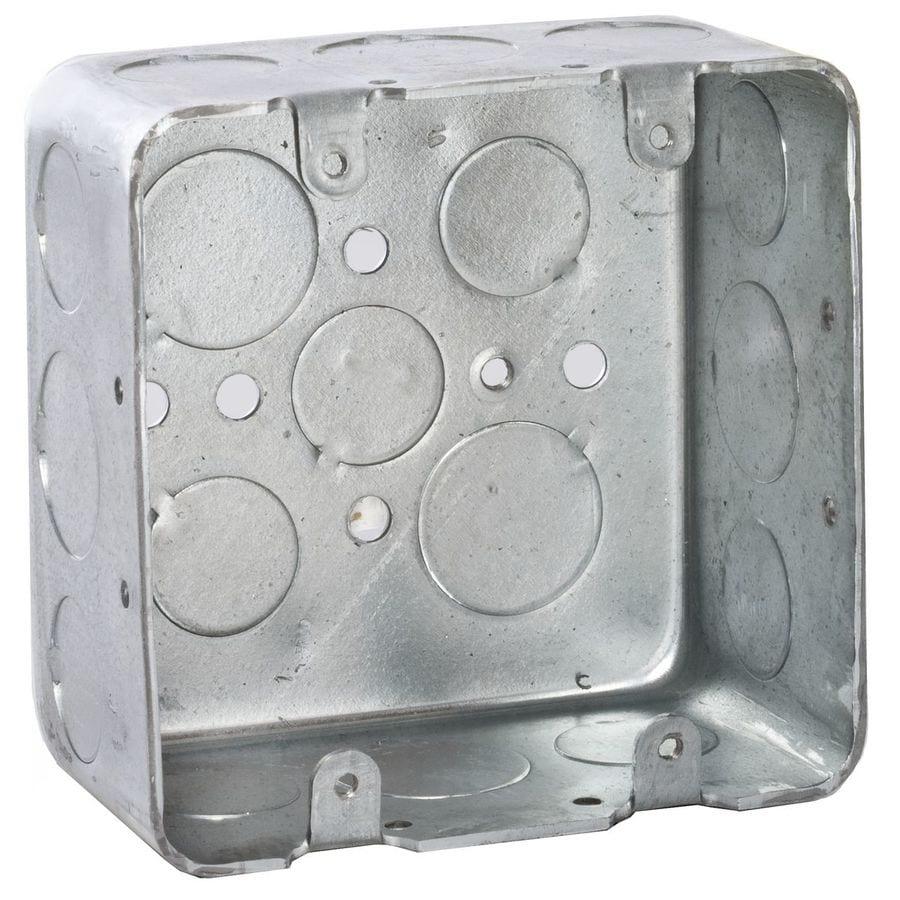 on 4 Gang Metal Electrical Box