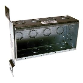 Madison Electric Smart Box Rectangle PVC 5 Gang 5 gang Gray Electrical Box 45in