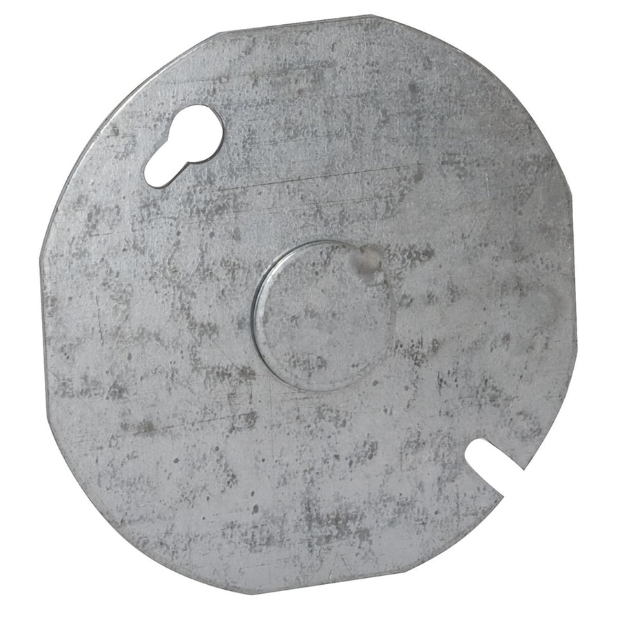 Raco Round Metal Electrical Box Cover