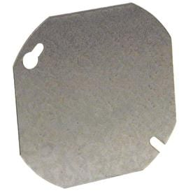 Raco 1 Gang Round Metal Electrical Box Cover
