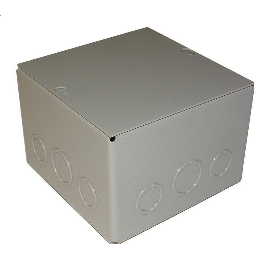 WIEGMANN 144 cu in 0-Gang Metal New Work Wall Electrical Box