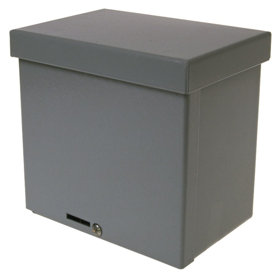 Electrical Wall Boxes : Shop wiegmann rsc gray metal weatherproof exterior new