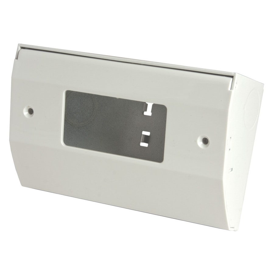 Hubbell 1-Gang White Metal Interior New Work/Old Work Standard Enclosure Celing/Wall Electrical Box