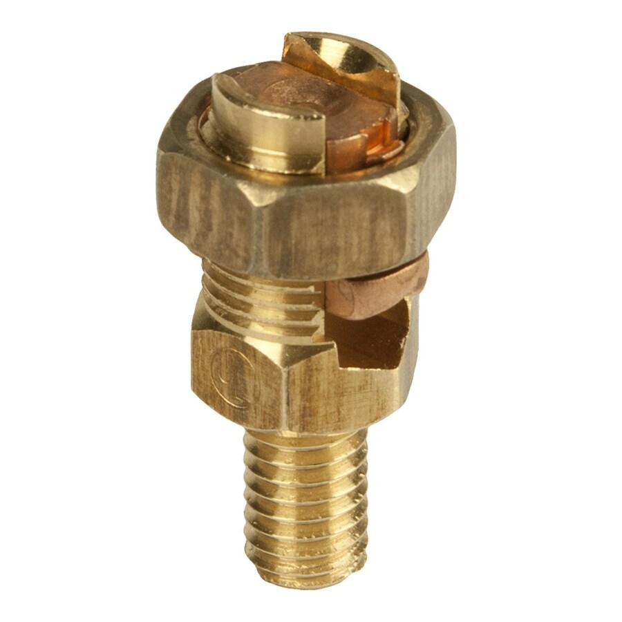 BURNDY 0.32-in Copper Split Bolt