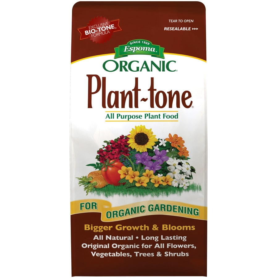 Espoma Plant-Tone 8-lb Organic/Natural All Purpose Food (5-3-3)