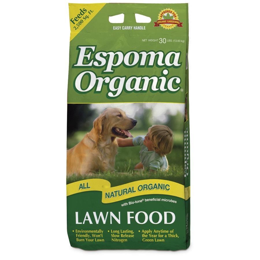 Espoma 2,500-sq Ft Organic Organic Or Natural Lawn