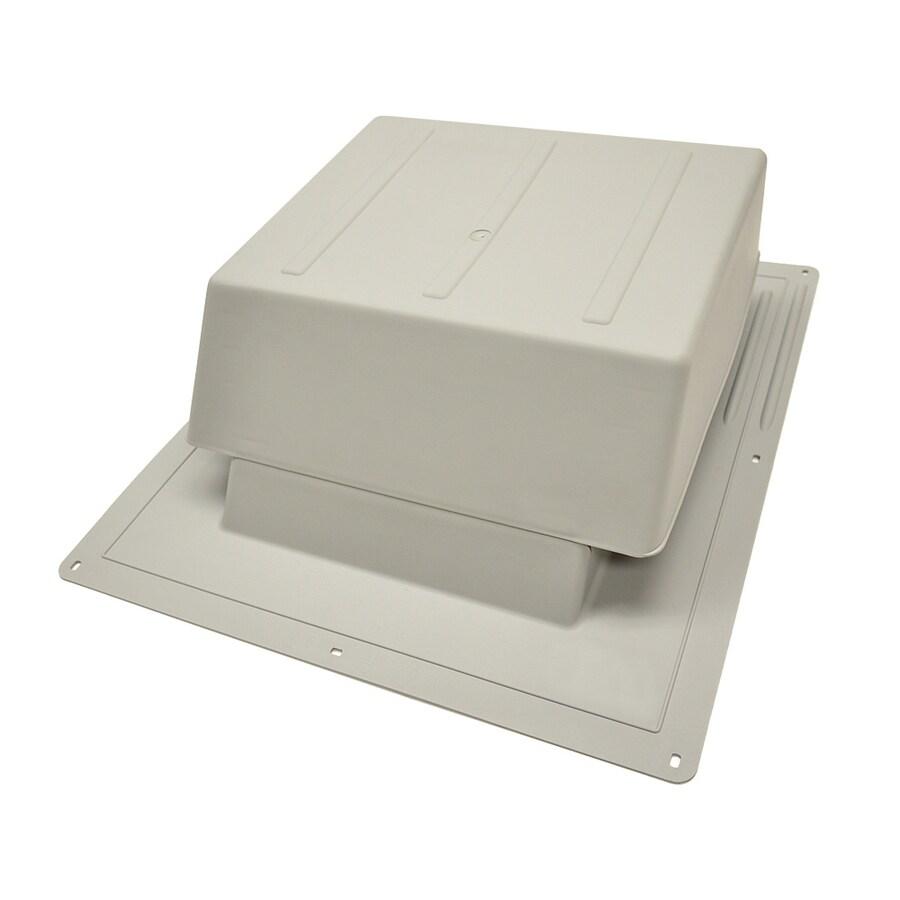 Master Flow 65 NFA Gray Plastic Slant-Back Roof Louver