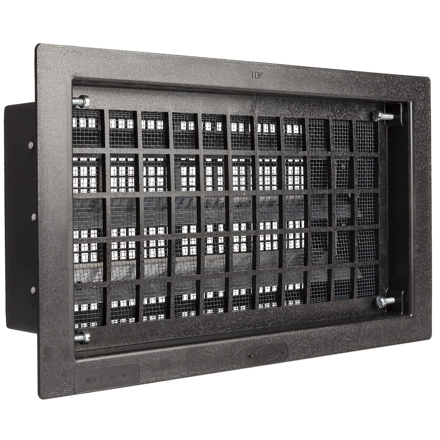 Master Flow 17.5-in x 9.25-in Plastic Foundation Vent