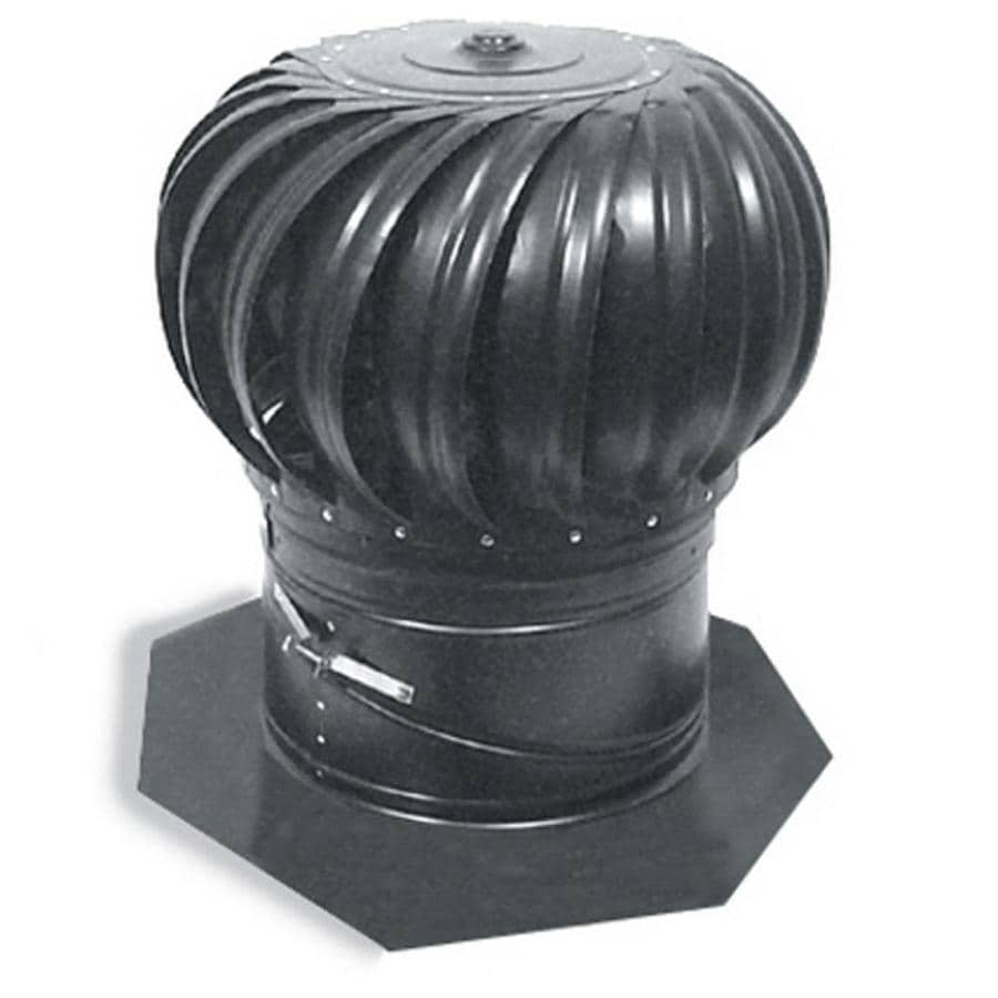 Master Flow Weatherwood 14-in Aluminum Internally Braced Roof Turbine Vent