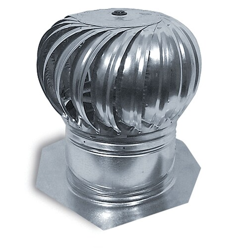 Whirlybird Wind Turbine Roof Ventilation 14 Inch Mill Aluminum Internally Braced