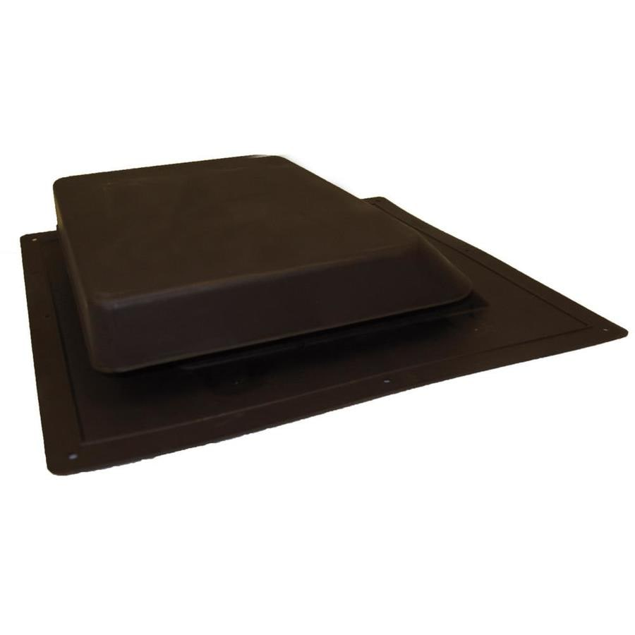 Master Flow 37 NFA Brown Plastic Slant-Back Roof Louver