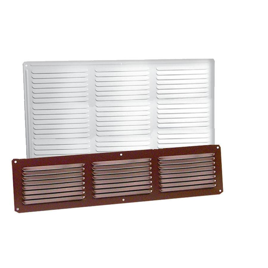 Master Flow Undereave 16-in L White Aluminum Soffit Vent