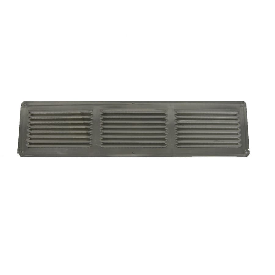 Master Flow Undereave 16-in L Mill Aluminum Soffit Vent