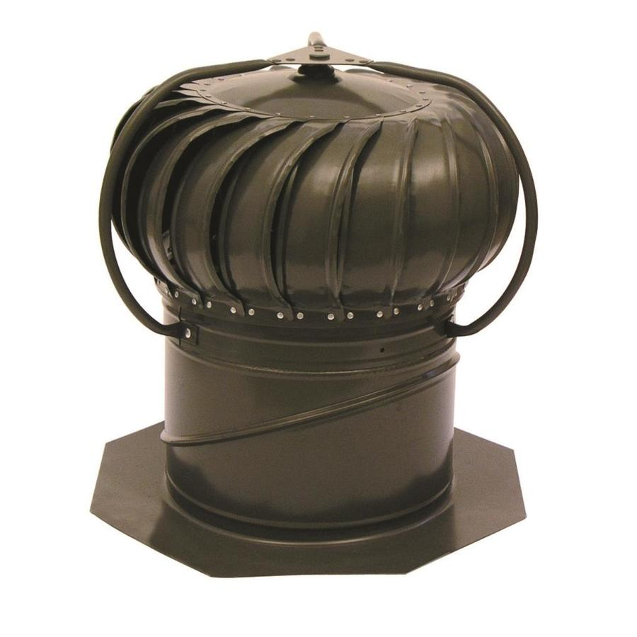 Turbine Roof Ventilators : Shop master flow weatherwood in galvanized steel