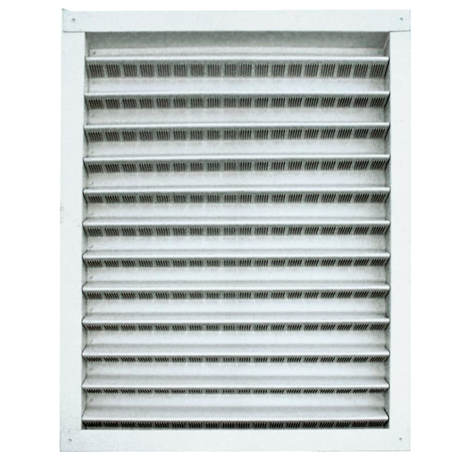 Master Flow 12-in x 12-in Mill Square Aluminum Gable Vent