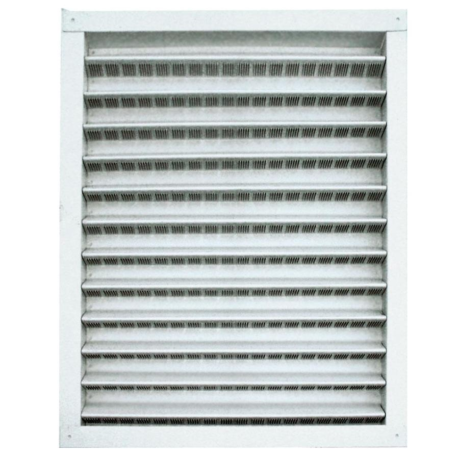 Master Flow 16.5-in x 26.5-in Mill Rectangle Aluminum Gable Vent