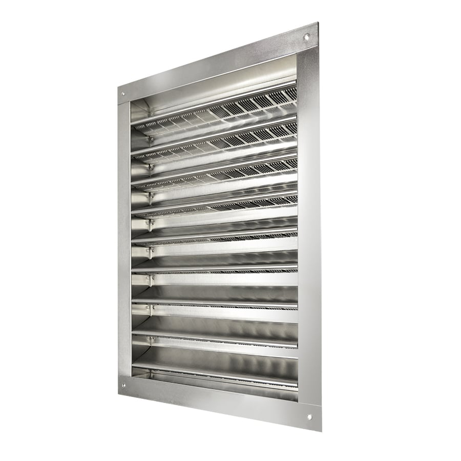 Master Flow 26.5-in x 32.25-in Mill Rectangle Aluminum Gable Vent