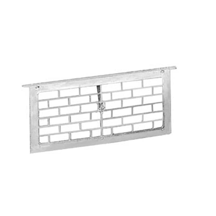 Master Flow 16-in x 8-in Aluminum Foundation Vent