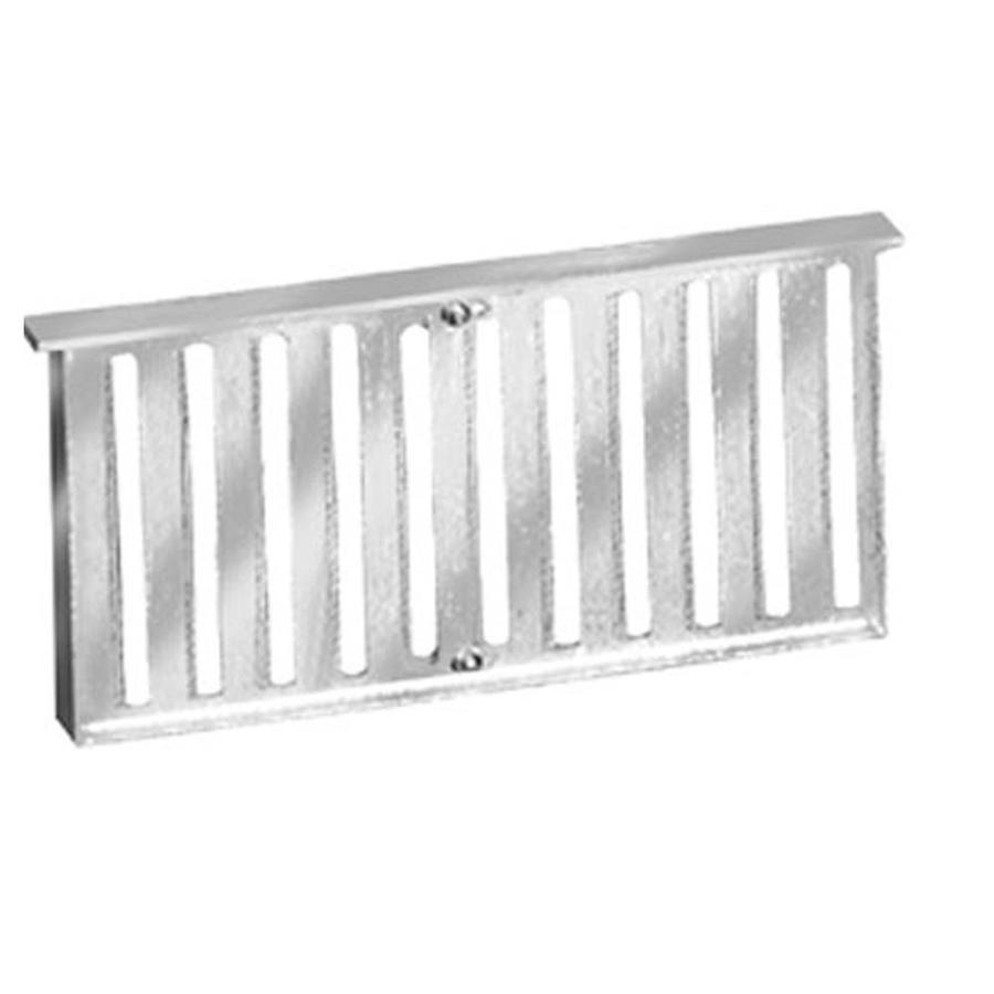 Master Flow Grate Style 16-in x 8-in Aluminum Foundation Vent