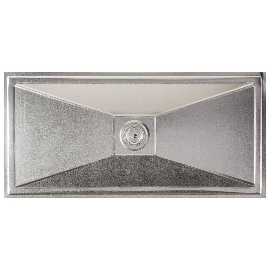 Master Flow 15.475-in x 7.373-in Metallic Aluminum Foundation Vent Cover